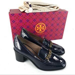 Tory Burch blue shoes size 5 (Box F)